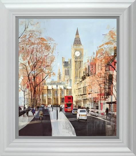 Like Clockwork by Tom Butler - Framed Limited Edition on Paper