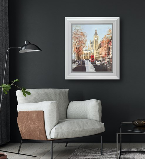 Like Clockwork by Tom Butler - Limited Edition on Paper wall setting